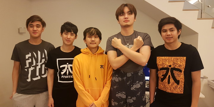 Fnatic announce their new roster