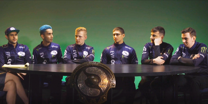 North American Dota at TI8