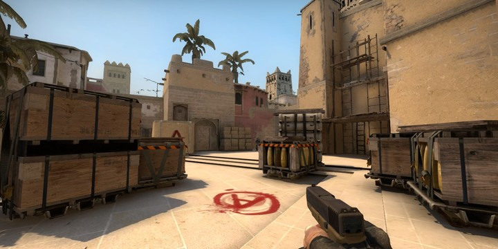 How to set a dot crosshair in CS:GO