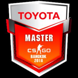 TOYOTA Master CS:GO Bangkok 2018