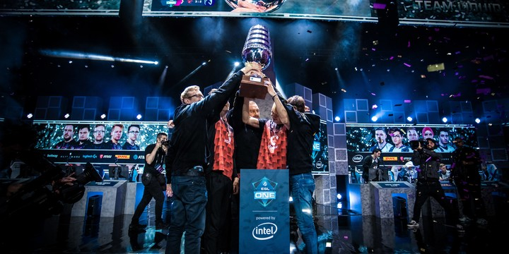 mousesports win ESL One New York