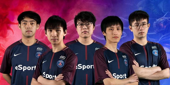 PSG.LGD Top 3 Team