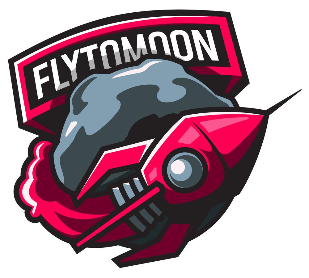 FlyToMoon Dota 2 Team Logo