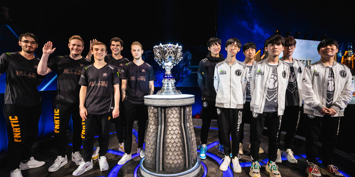 Worlds Finals Fnatic vs Invictus Gaming