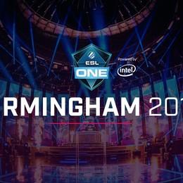 ESL One Birmingham 2018 Dota 2 UK